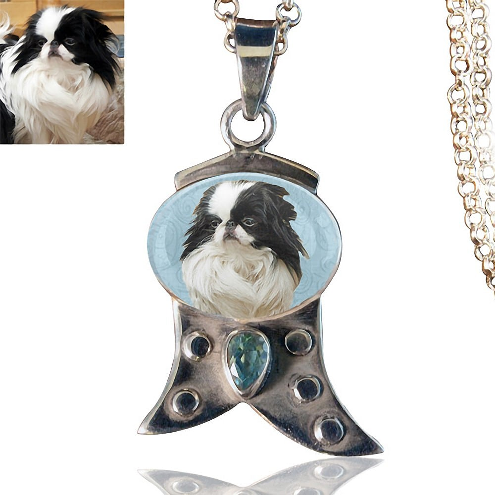 Memory jewelry dog lover gifts sterling silver memory necklace 102 aloadofball Gallery