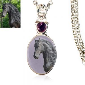Sterling Silver Memory Necklace, #219
