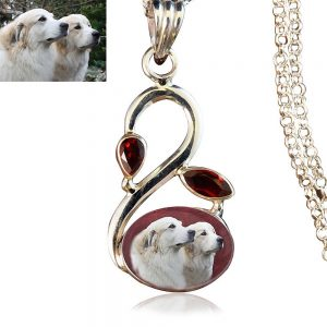Sterling Silver Memory Necklace, #28
