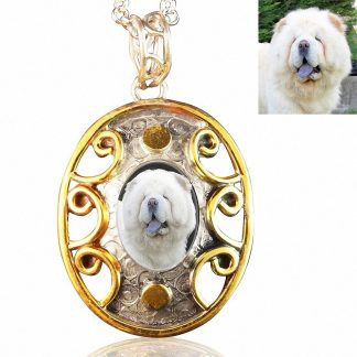 Sterling Silver Photo Keepsake Necklace #371