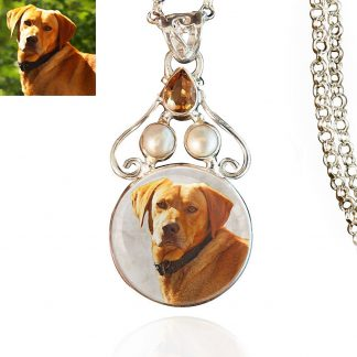 Sterling Silver Memory Necklace, #387