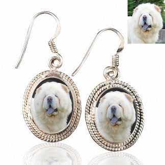 Sterling Silver Memory Earrings #42