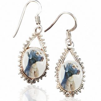 Sterling Silver Memory Earrings #45