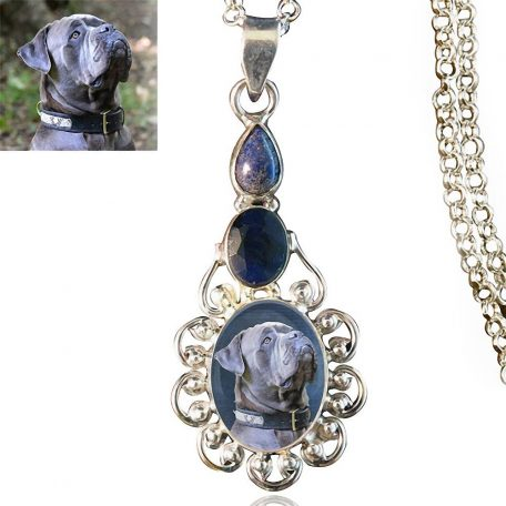 Sterling Silver Memory Necklace #519