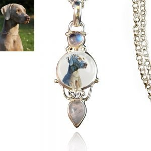 Sterling Silver Memory Necklace, #525