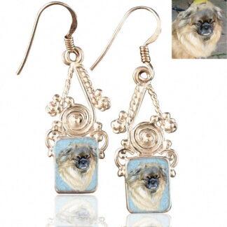 Sterling Silver Memory Earrings, #6