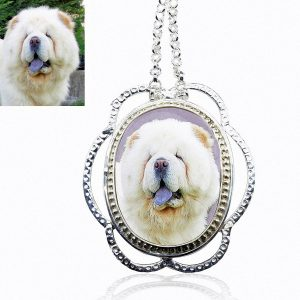 Enchanted Sterling Silver Photo Keepsake Necklace