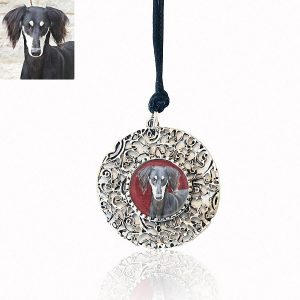 Long Filagree Photo Keepsake Necklace