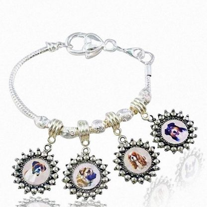 Photo Keepsake Pandora Style Bracelet