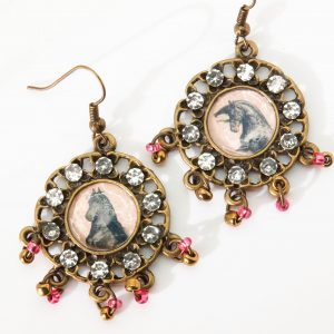 Photo Keepsake Dangles Earrings