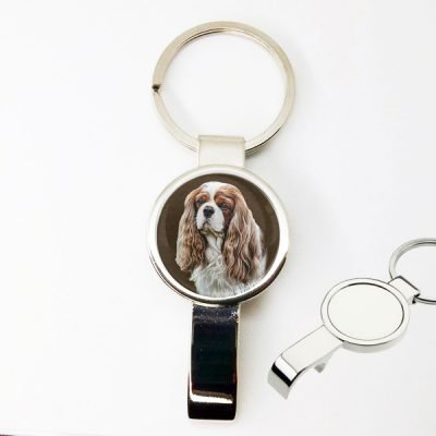 Photo Keepsake Bottle Opener Key Chain