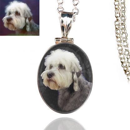Classic Sterling Silver Photo Keepsake Necklace