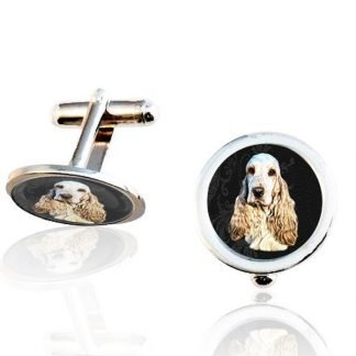 Men's Photo Cuff Links, Silver Plated