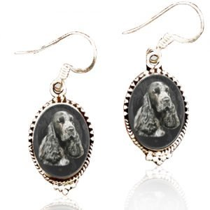 Sterling Silver Memory Earrings #21