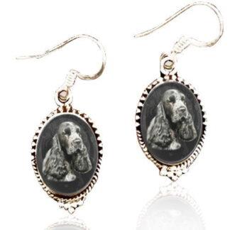 Sterling Silver Memory Earrings #21