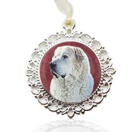 Photo Keepsake Filagree Christmas Ornament