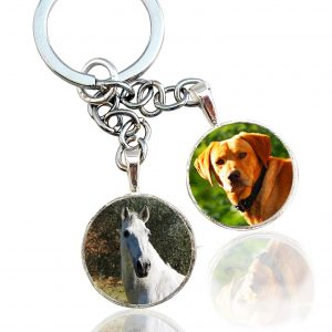 Photo Keepsake Multi-Portrait Key Chain