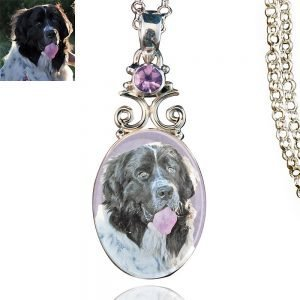 New Bloom Sterling Silver Memory Necklace, Amethyst