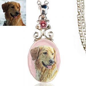 New Bloom Sterling Silver Memory Necklace, Pink Kunzite