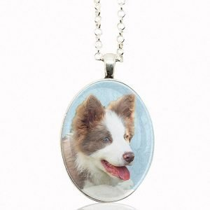 Oval Photo Keepsake Necklace