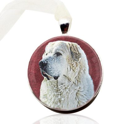 Photo Keepsake Round Christmas Ornament
