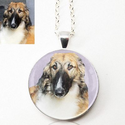 Photo Keepsake Round Pendant Necklace