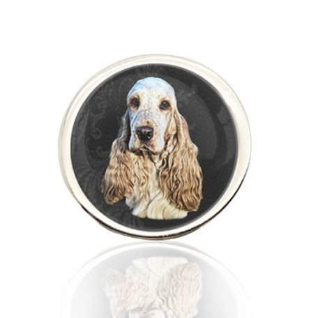 Silver Photo Lapel Pin