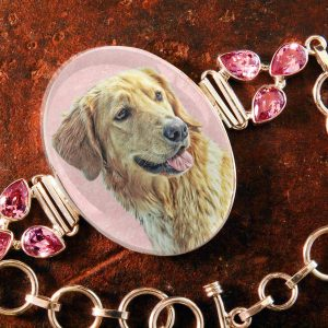 Sterling Silver Memory Bracelet, with Pink Kunzite, #42, Can hold up to 4