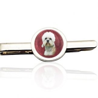 Silver Custom Photo Tie Clip
