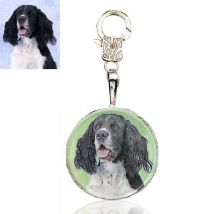 Custom Photo Zipper Pull or Bag Charm