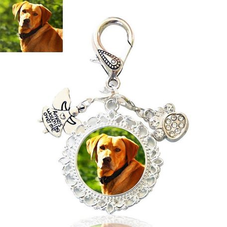 Guardian Angel Paw Bag Charm