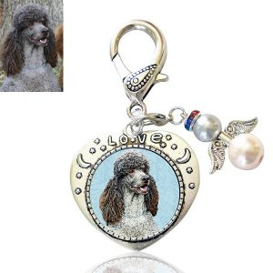 Angel Love Photo Keepsake Bag Charm
