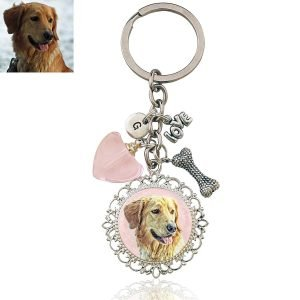 Memory Keepsake Photo Key Chain