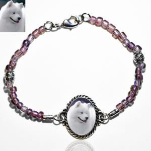 Beaded Photo Keepsake Bracelet