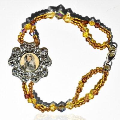 Amber Ice Photo Keepsake Bracelet