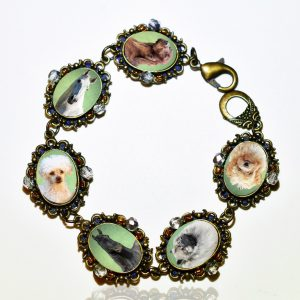 Photo Keepsake Bronze Classic Bracelet