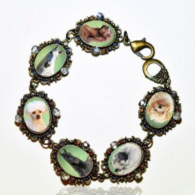Photo Keepsake Bronze Classic Bracelet